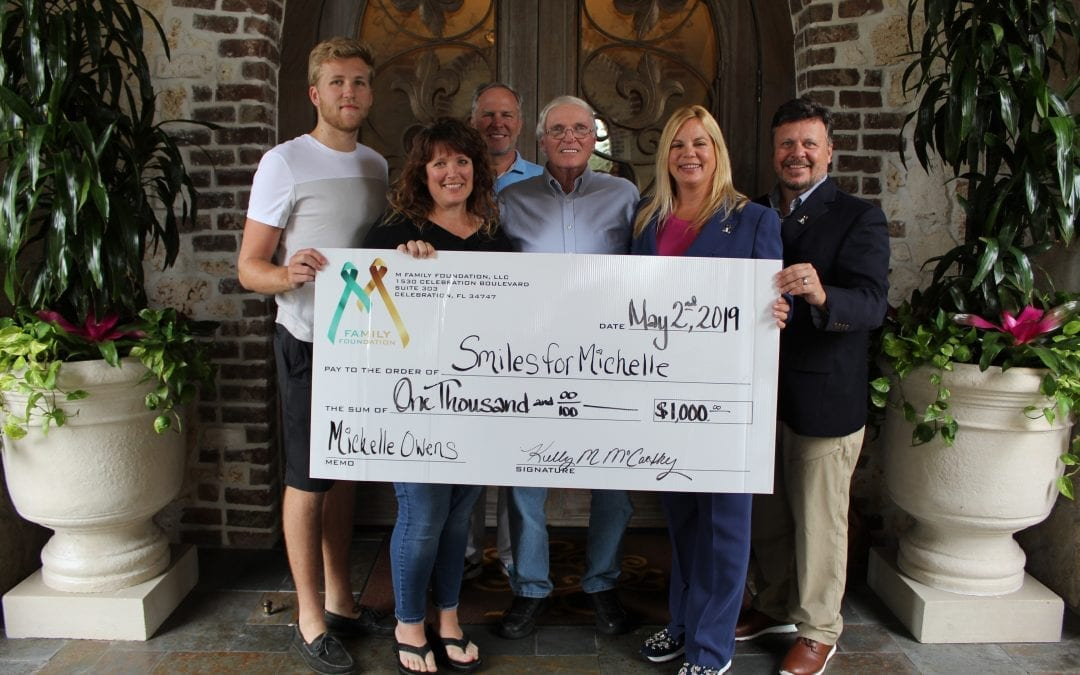 The M Family Foundation Distributes Its First Checks to Founding Honorees